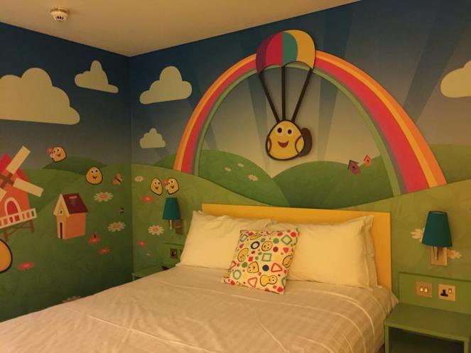Cbeebies hotel room
